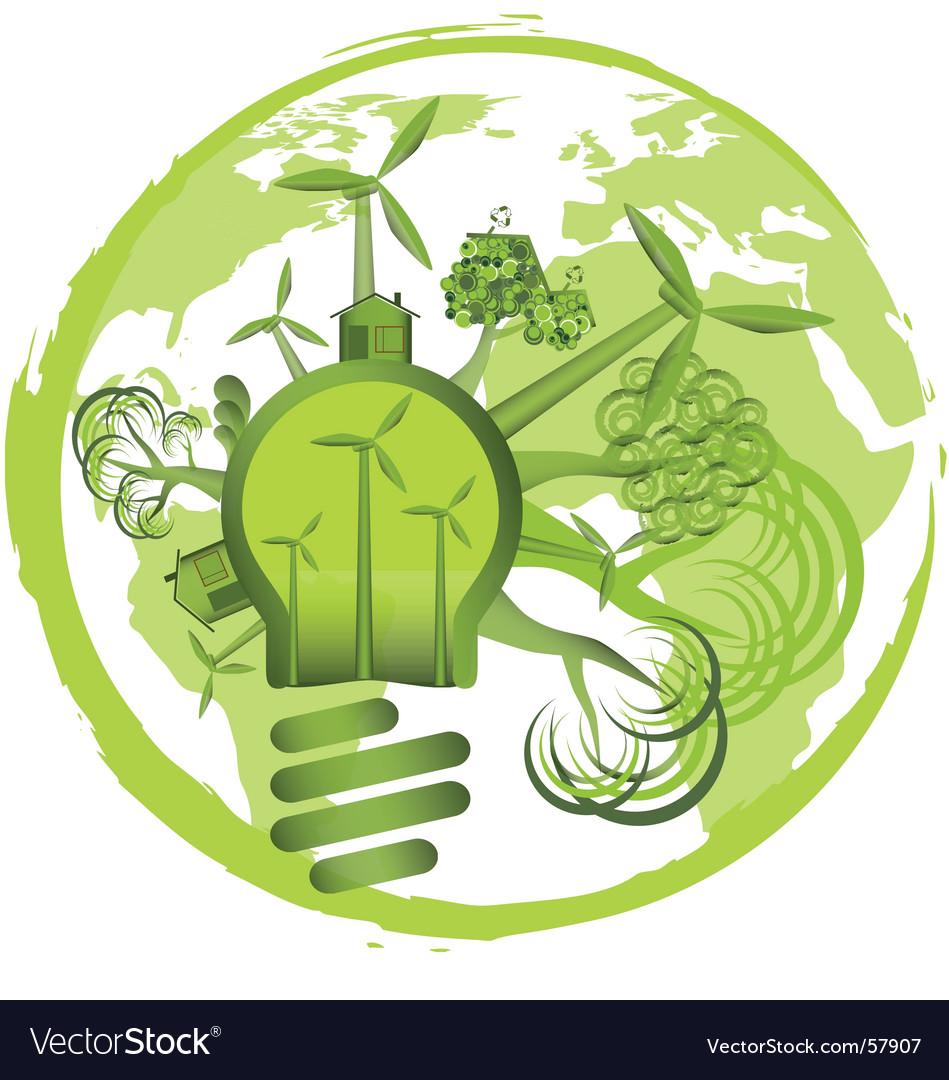 Environment design vector