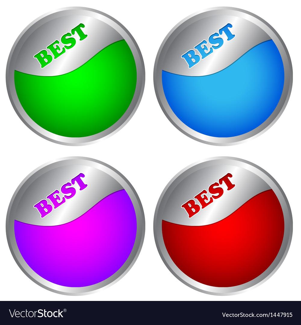 Best labels vector