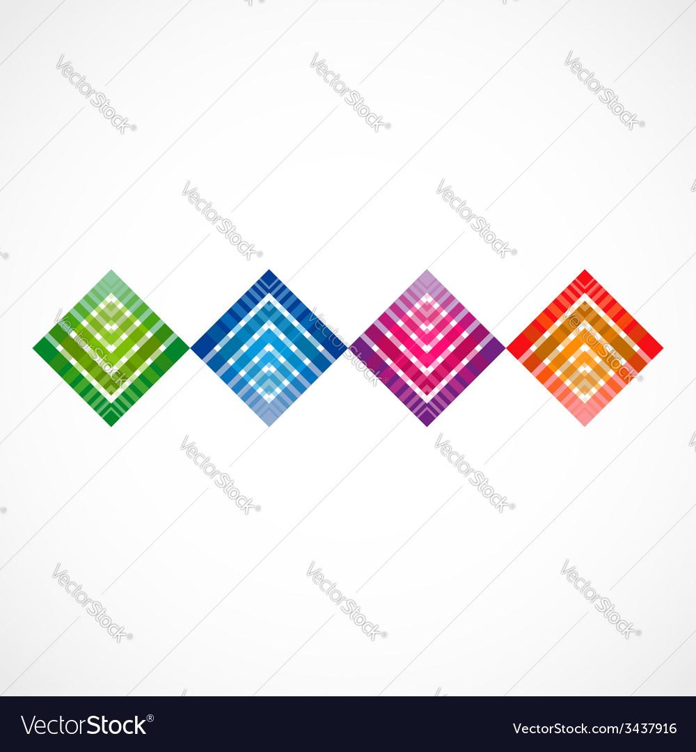 Geometrical row vector