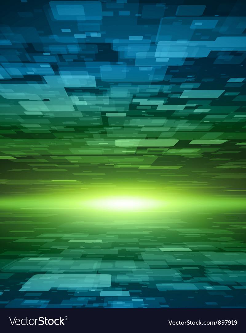Virtual tecnology background vector