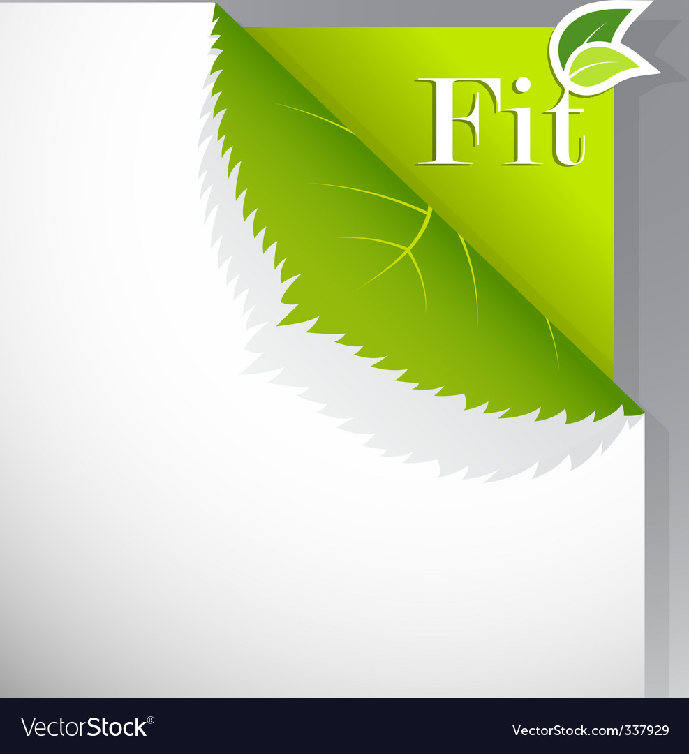 Ecology paper vector