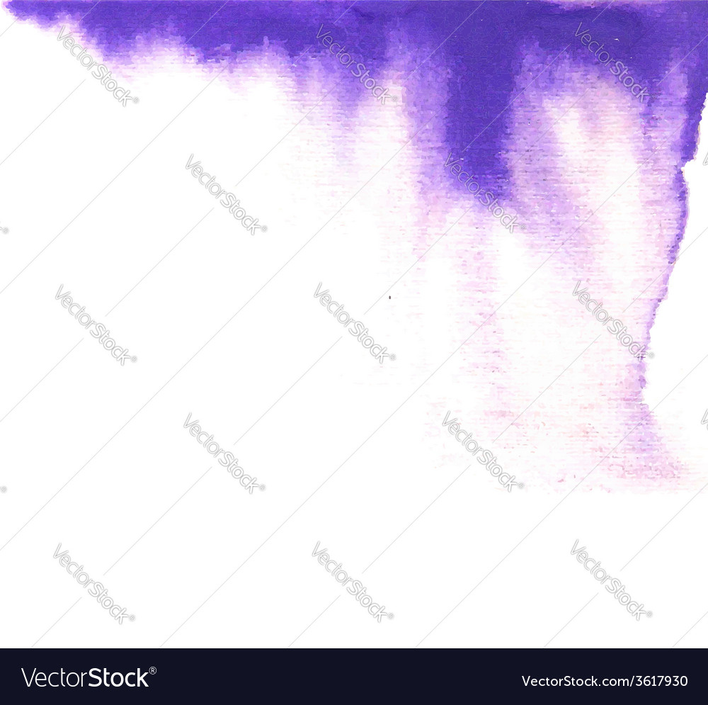 Violet paint drip background vector