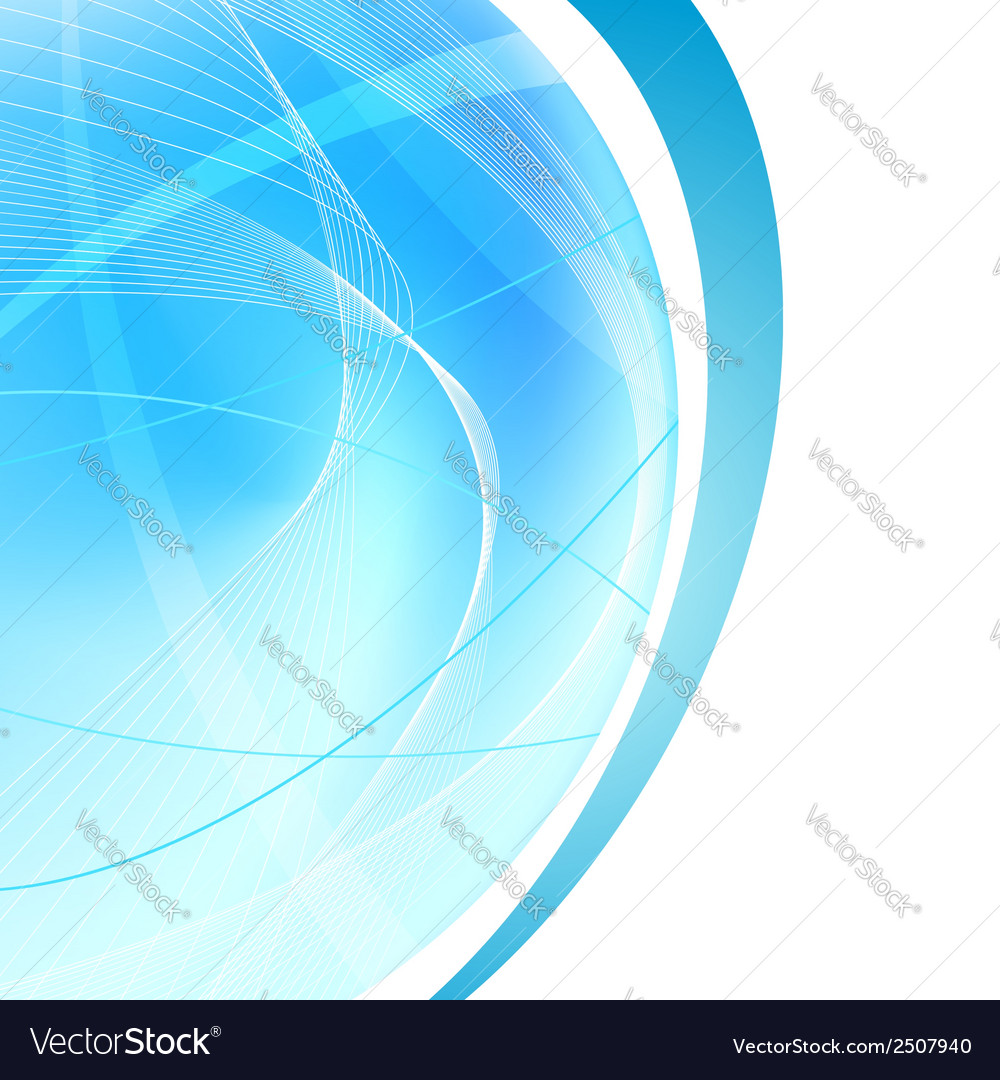 Bright abstract blue halftone background vector