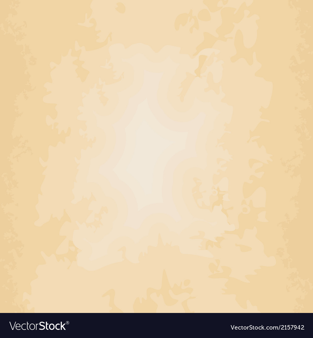 Beige background grungy old paper vector