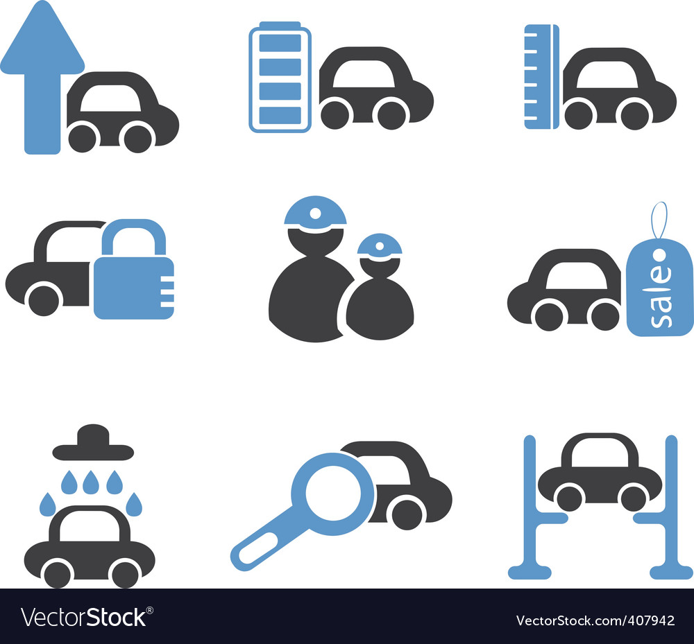 Cars signs vector