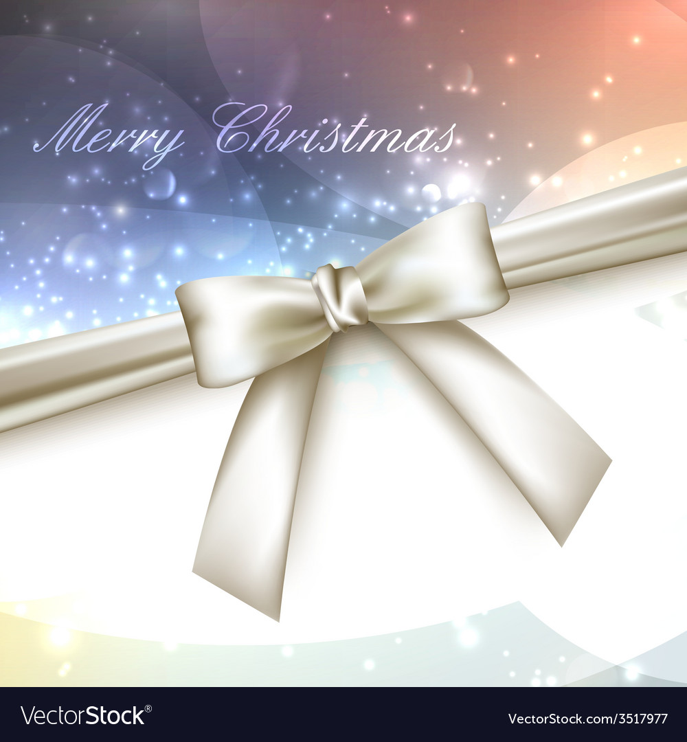 Merry christmas shiny multicolored holiday vector