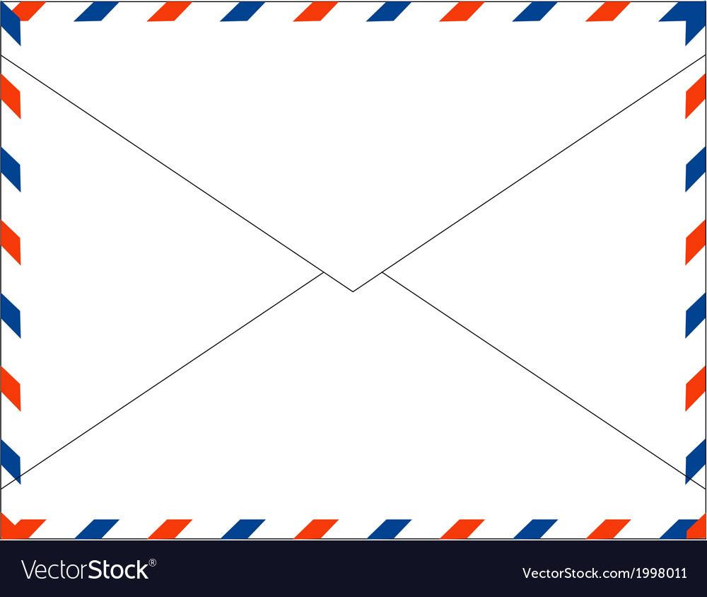 Postal mail envelope vector