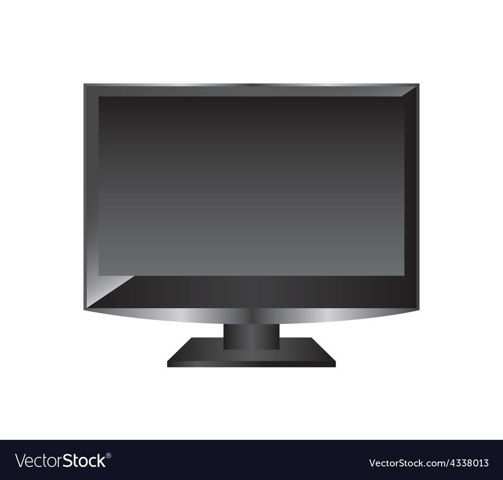 Television screen vector