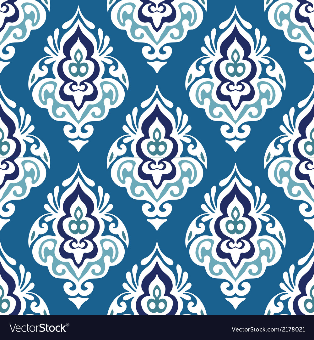 Damask-seamless-floral-vector
