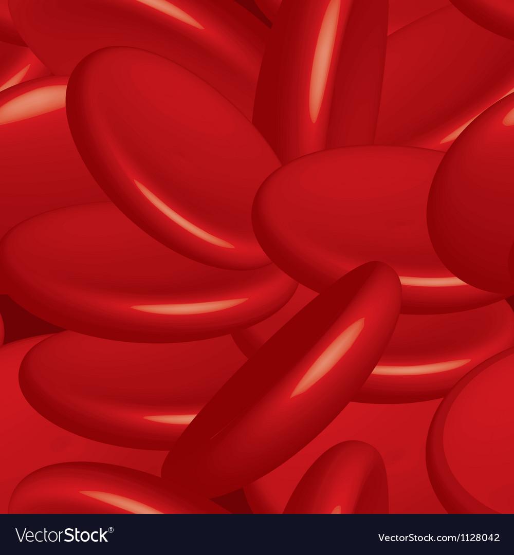 Blood cells seamless vector