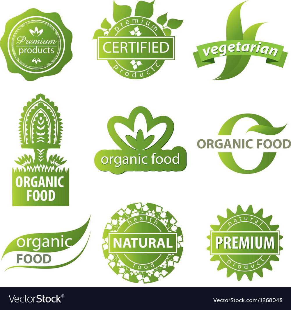 Plant ecological logo vector