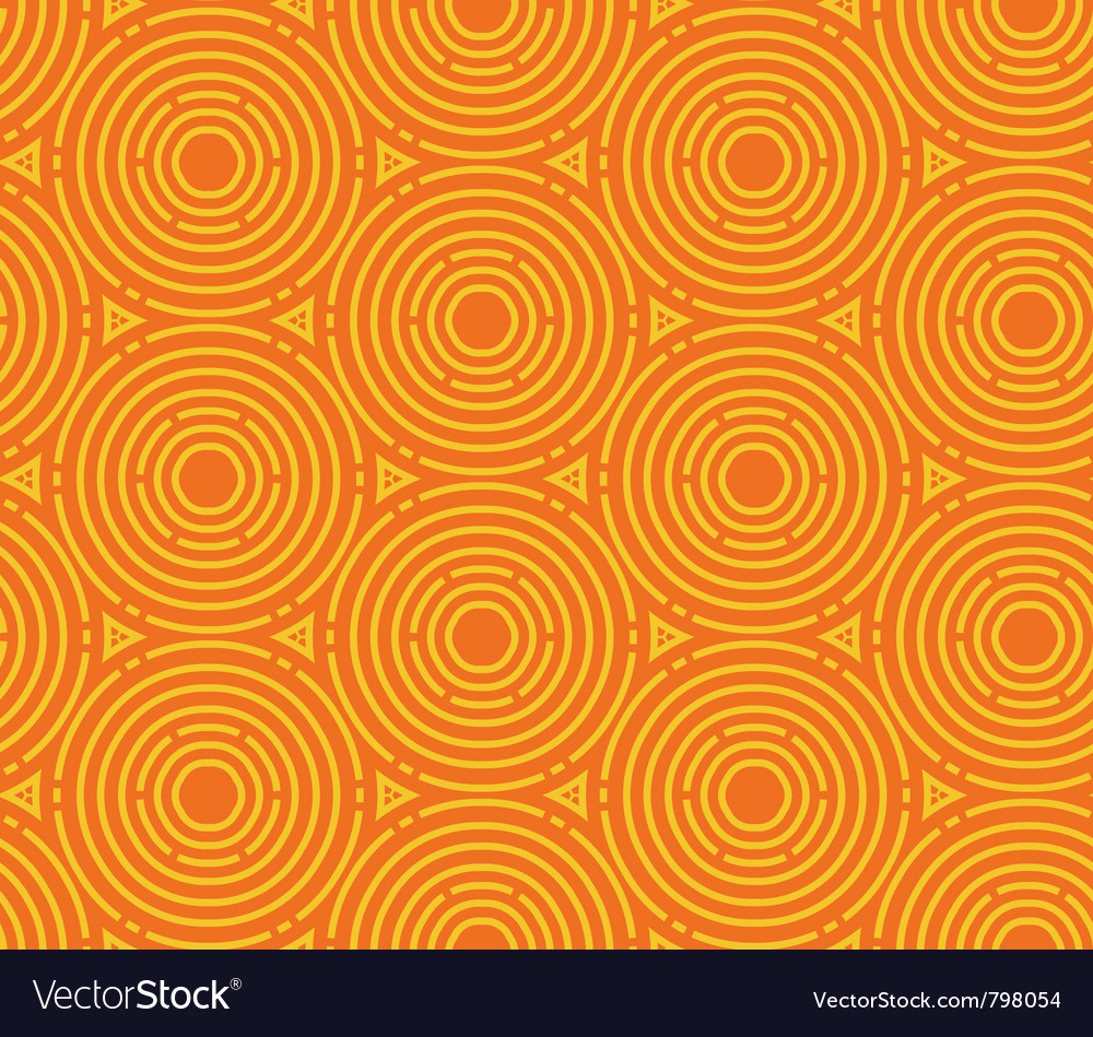 Abstract color seamless geometric background vector