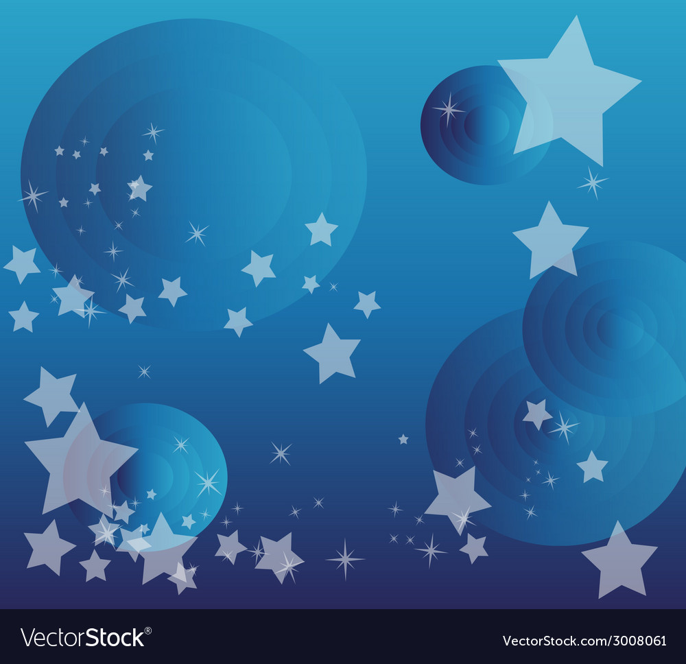Star circle background design vector