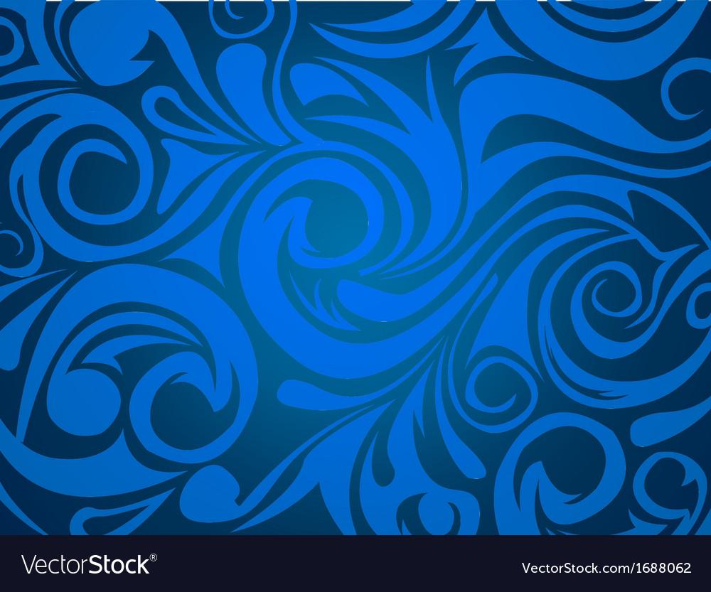 Swirl background vector