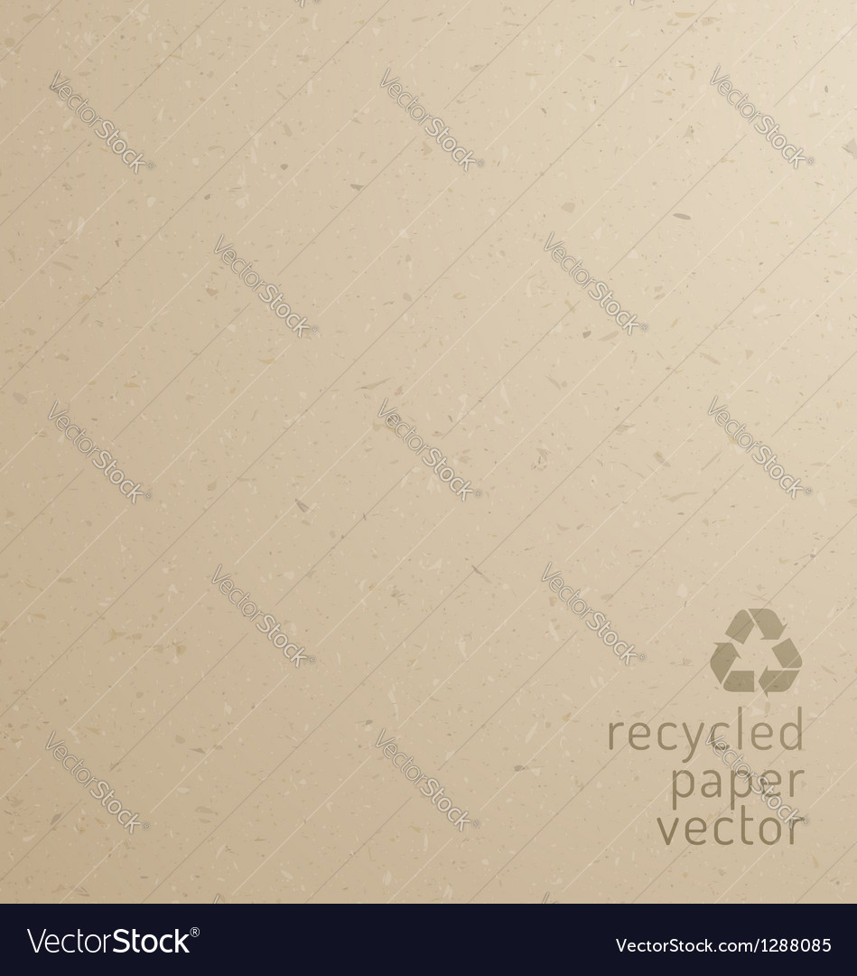 Recycle paper texture vector
