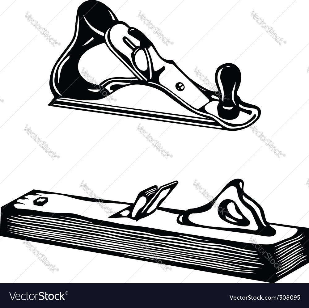 bench plane vector