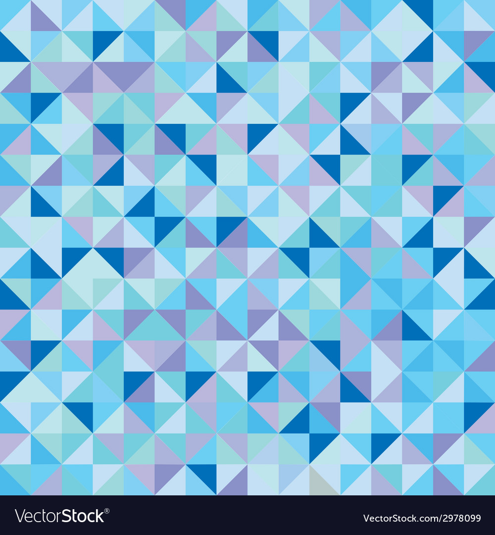Abstract triangle geometric pattern vector