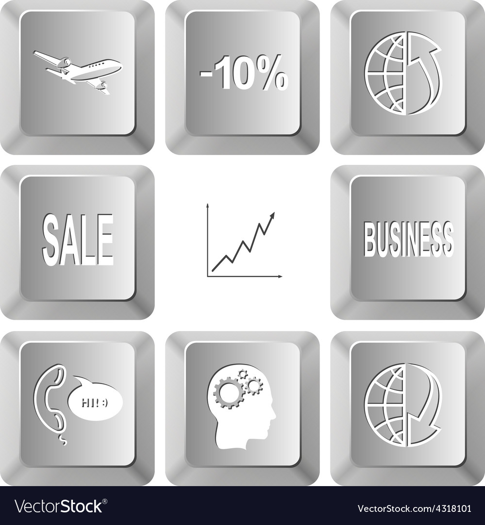 Airliner -10 globe and array up sale diagram vector