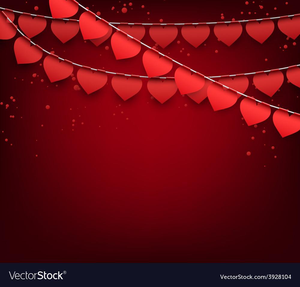 Love party celebration background vector