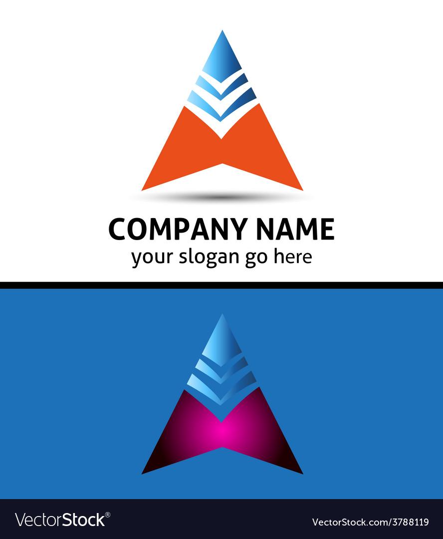 Success business arrow boost up logo icon vector