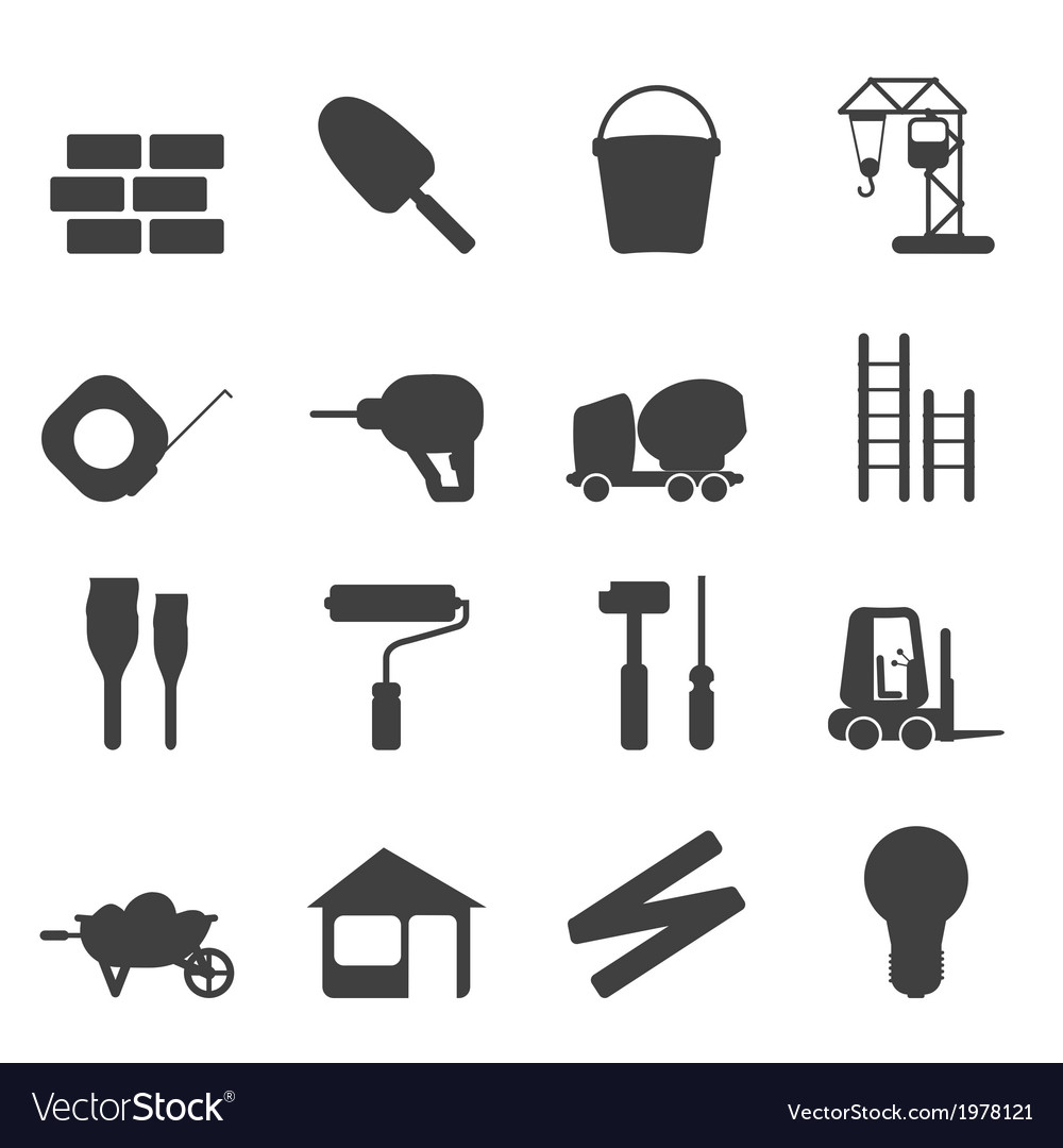 Construction and building vector