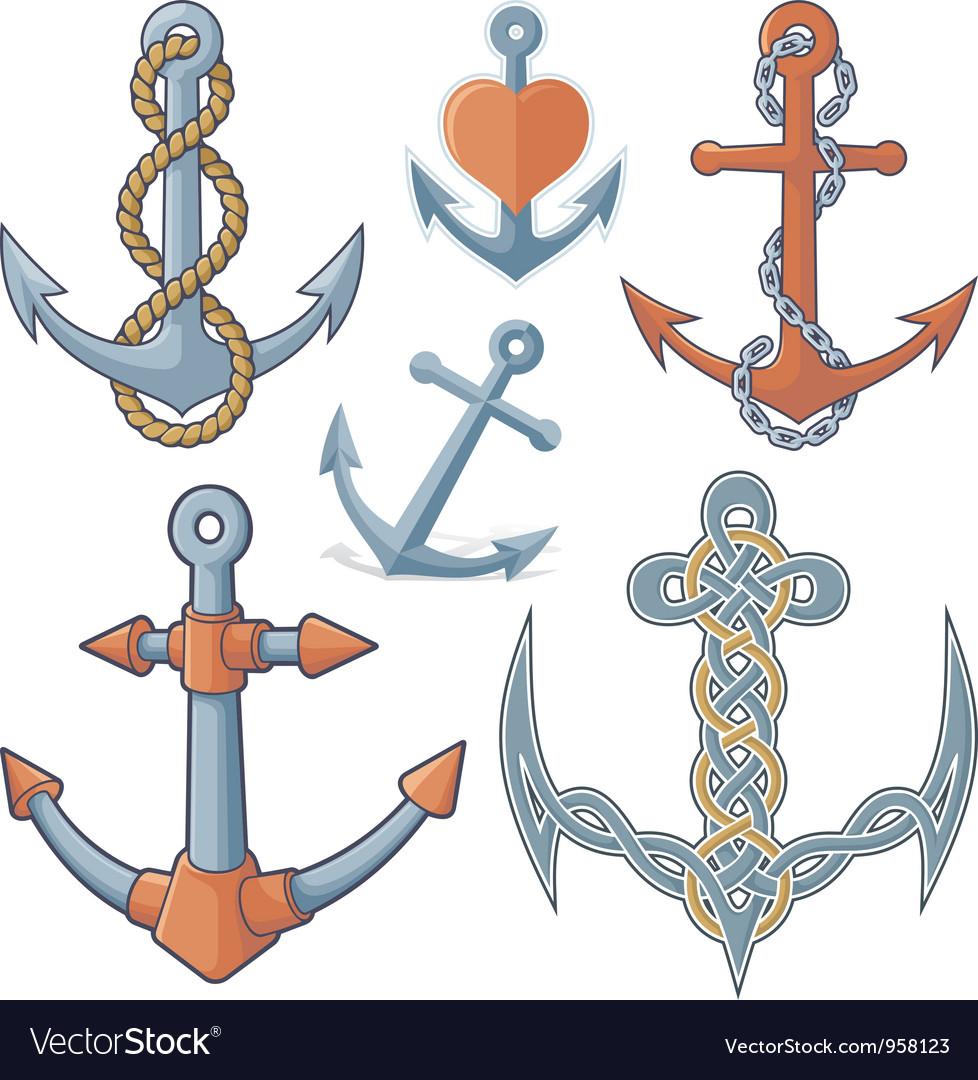Anchors vector