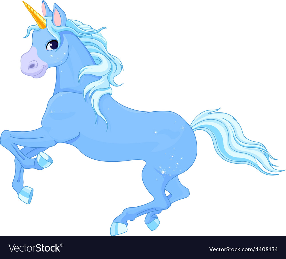Fairy unicorn vector