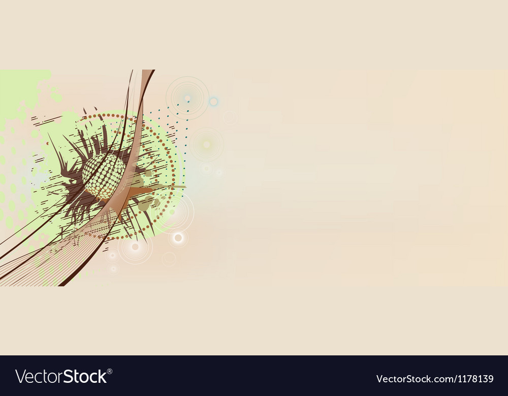 Abstract scribble vector