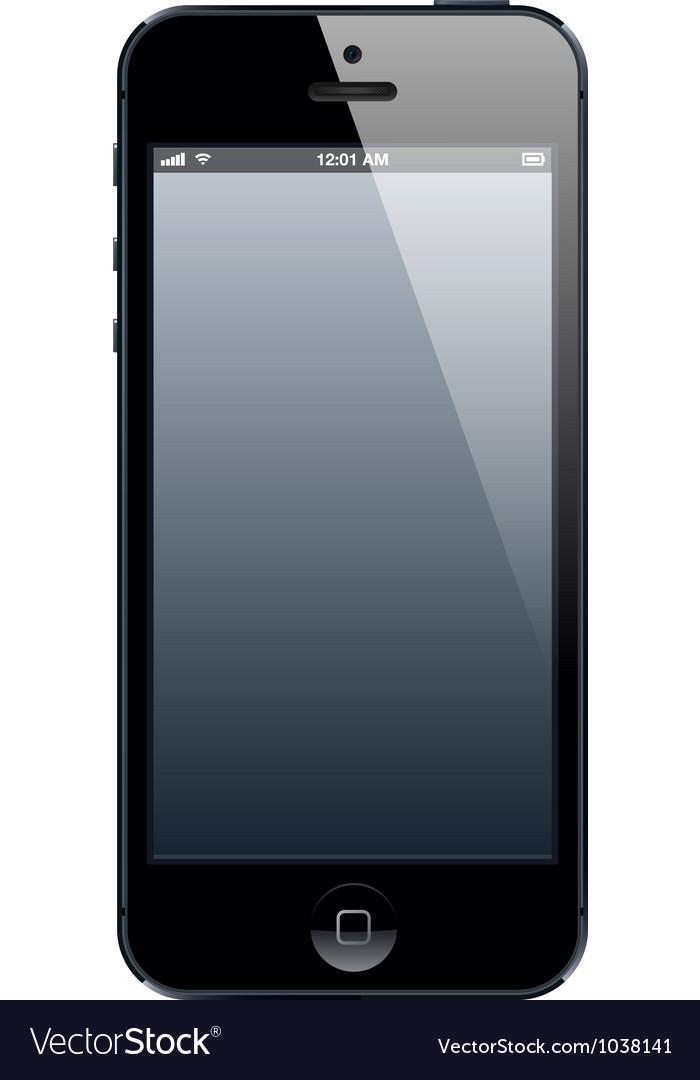 Phone five vector
