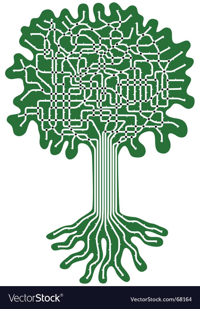 Tree system vector