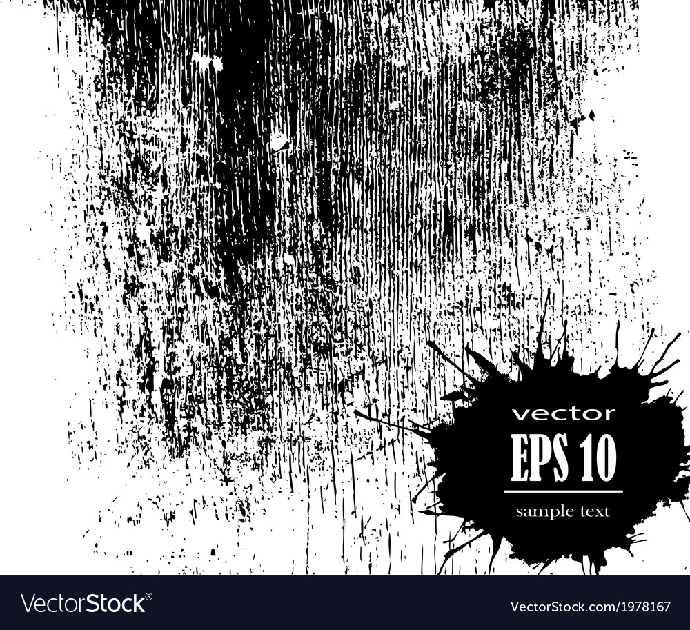 Blots ink stains vector