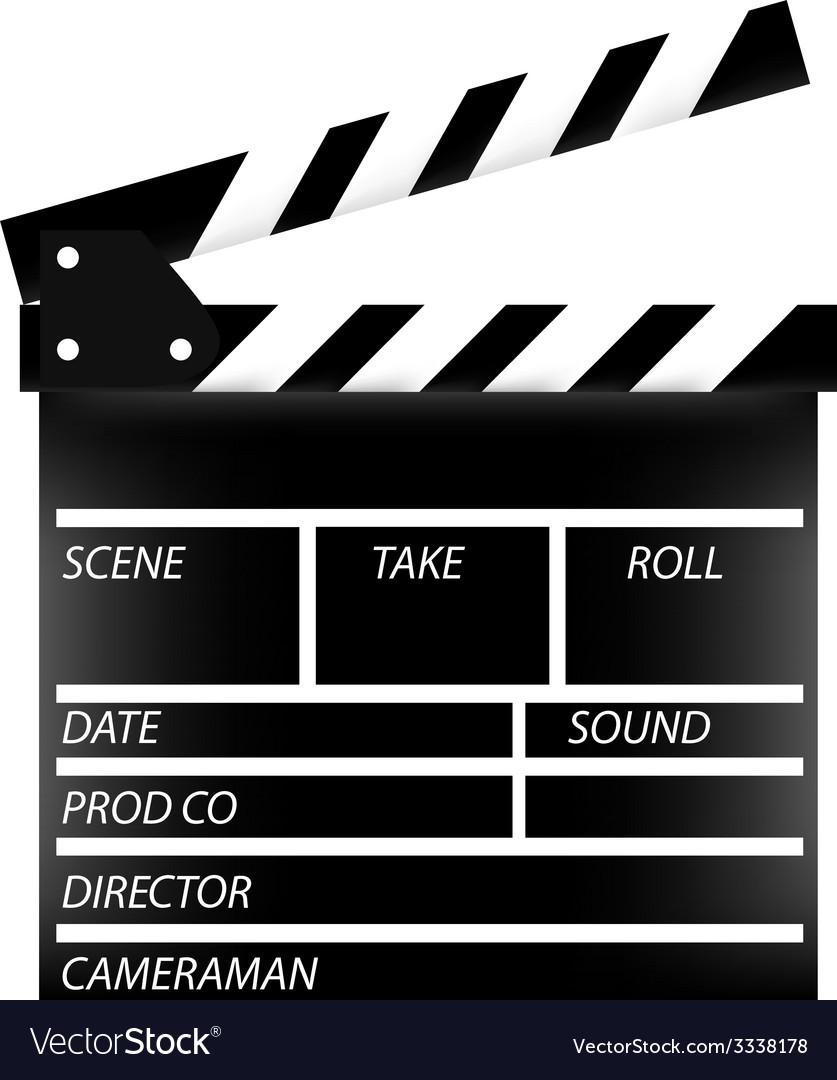 Cinema flap vector