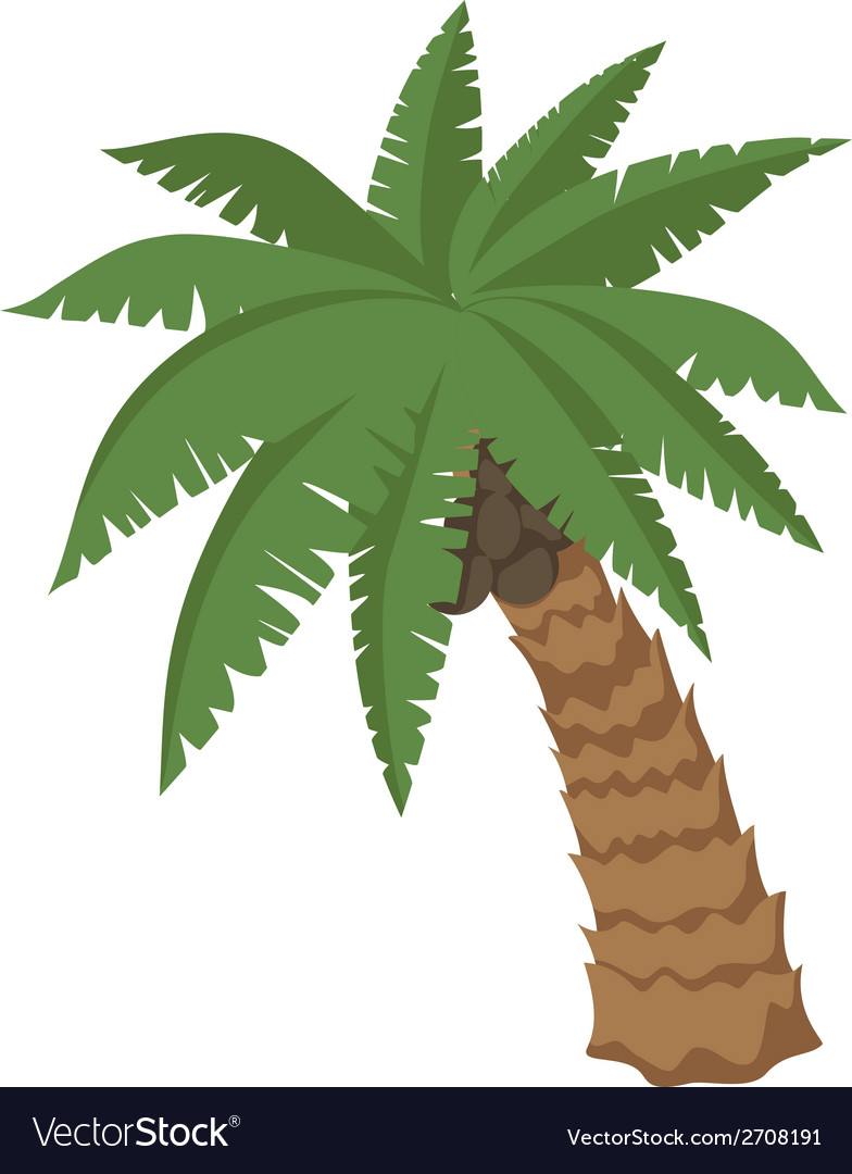 Big palm vector