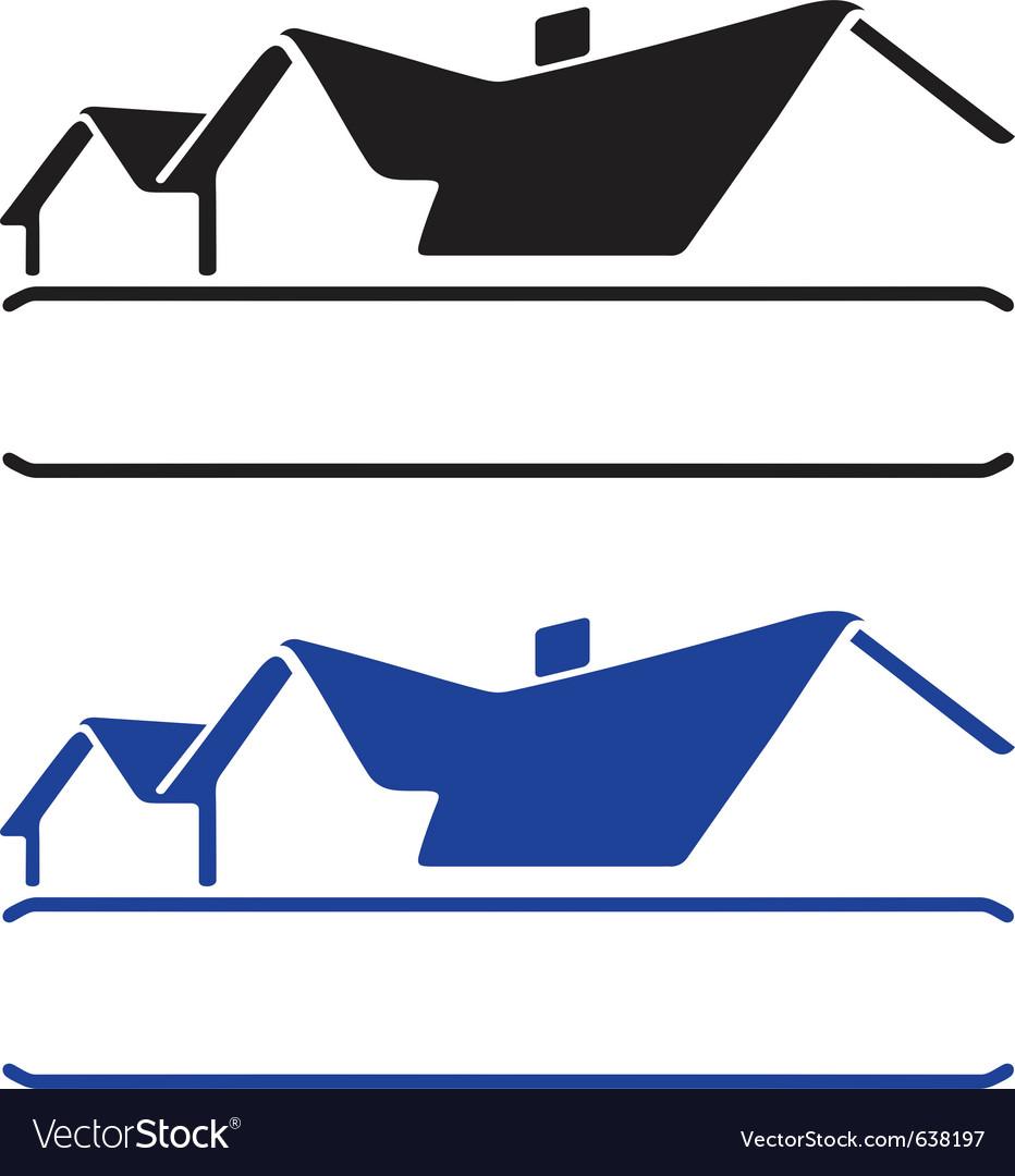 House logo vector