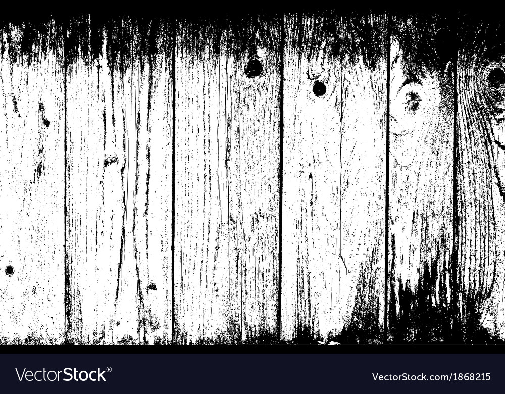 Weathered planks background vector