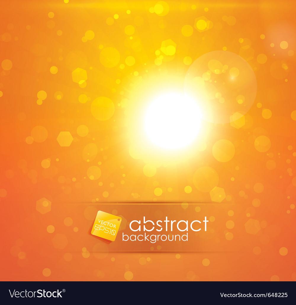 Sun light vector