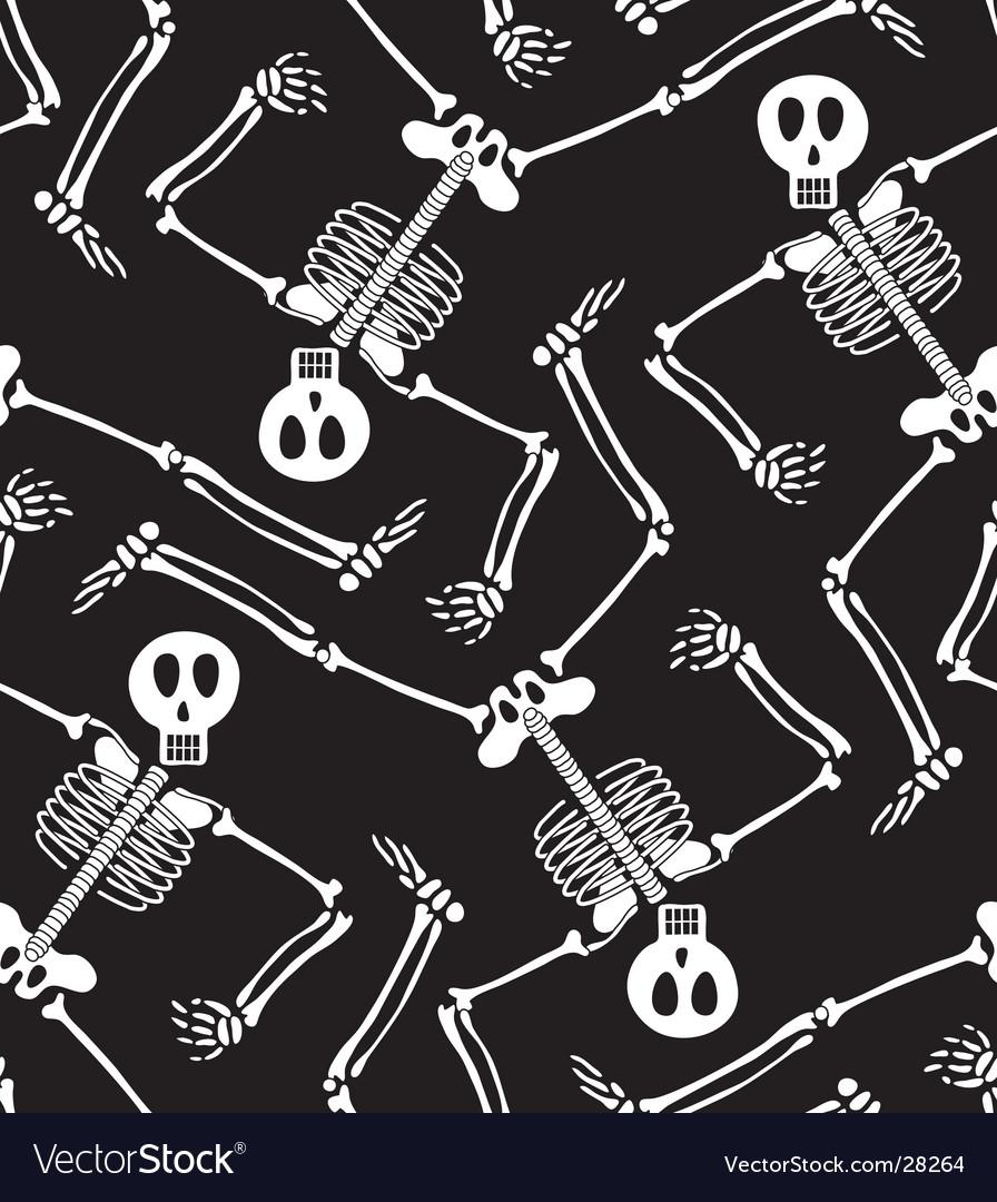 Skeleton pattern vector