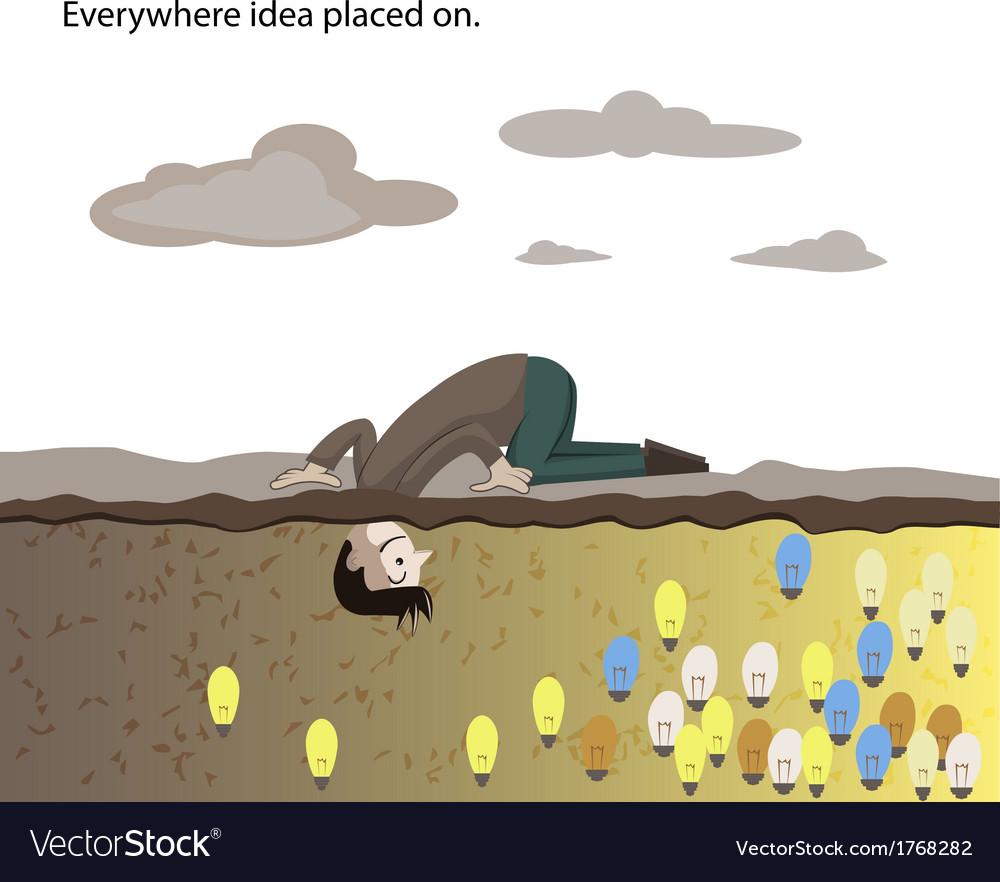 Everywhere vector