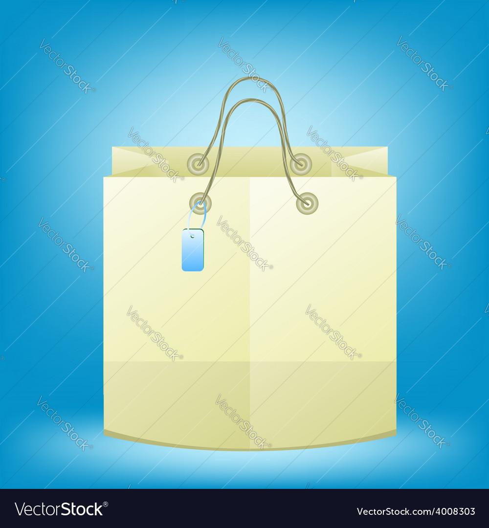 2536paper bag vector