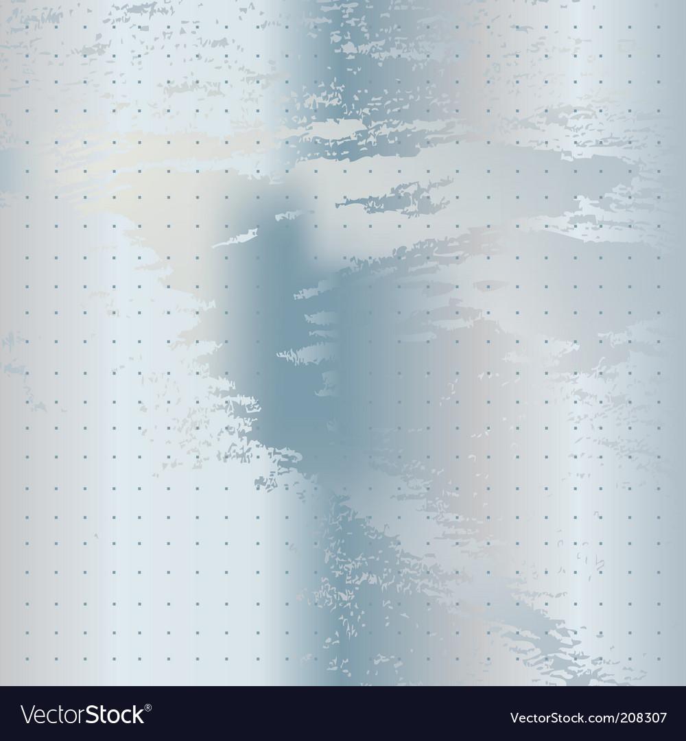 White metal texture vector