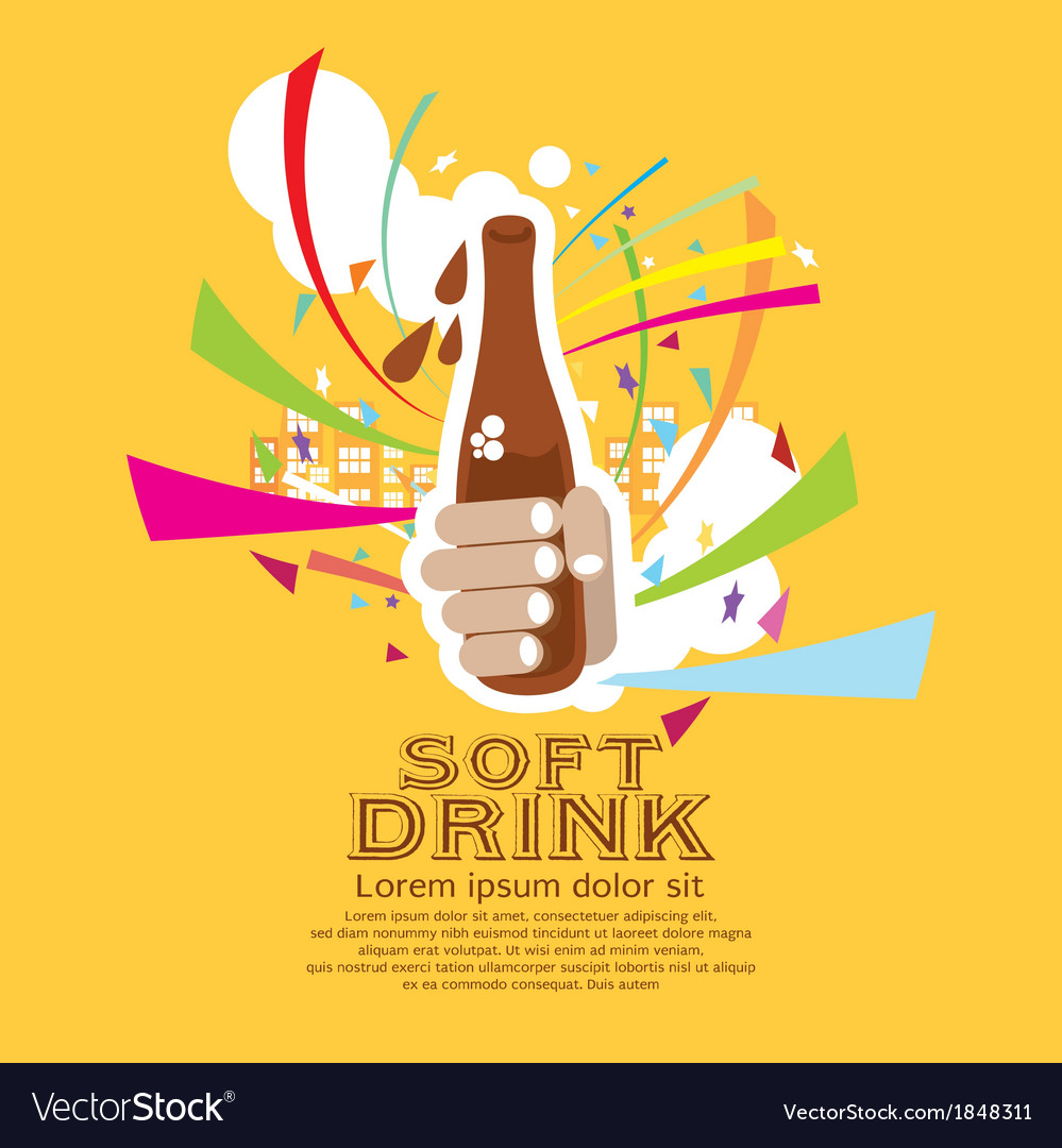 Soft drink eps10 vector