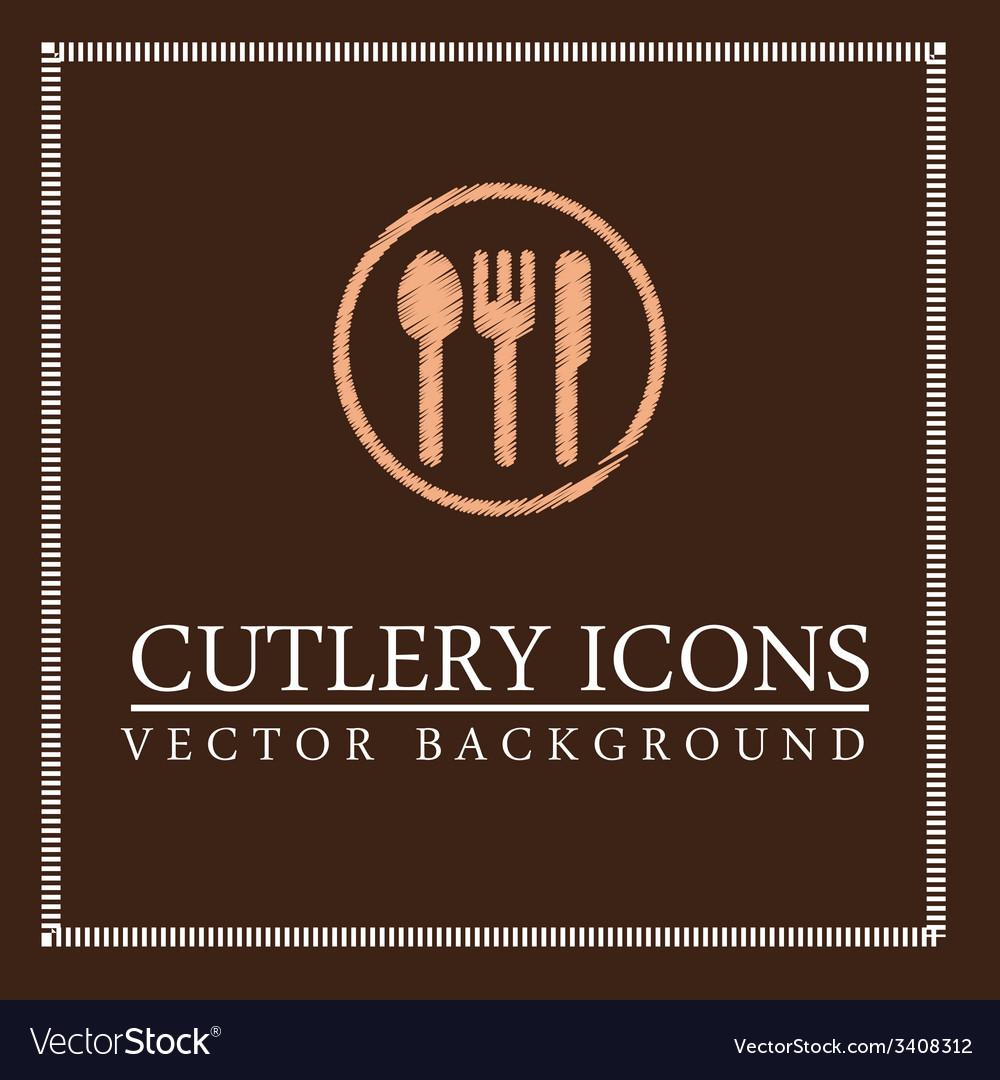 Food menu design vector