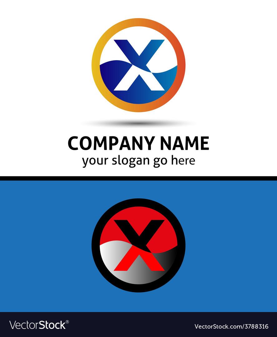 Letter y logo symbol design template elements vector