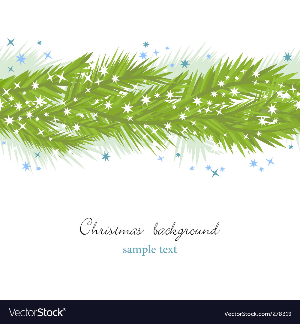 Seamless christmas background vector