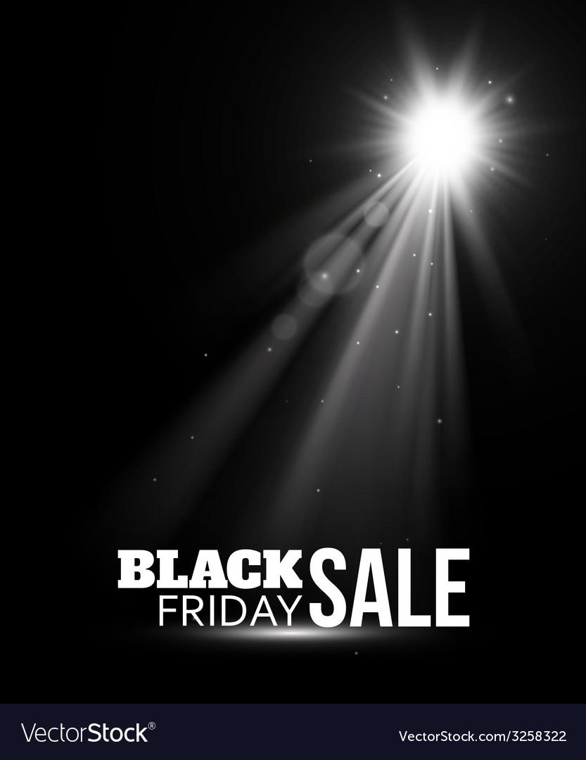 Black friday sale vector