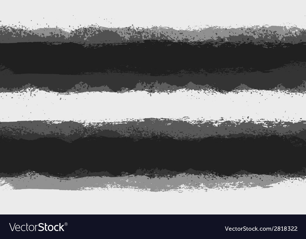 Grunge paint stain dividers background stripes vector