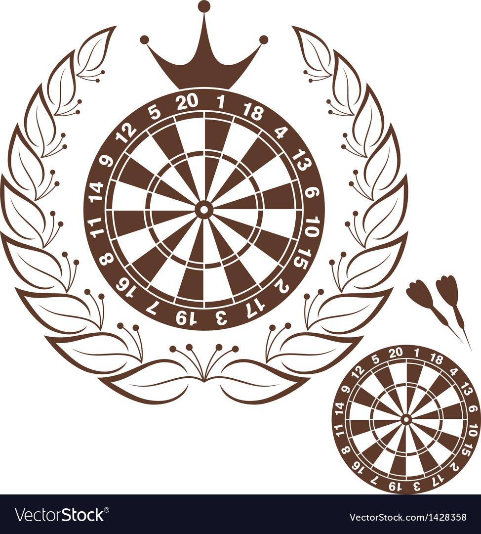 Darts vector
