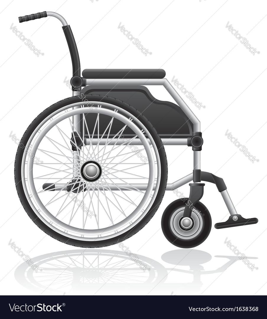 Wheelchair 01 vector