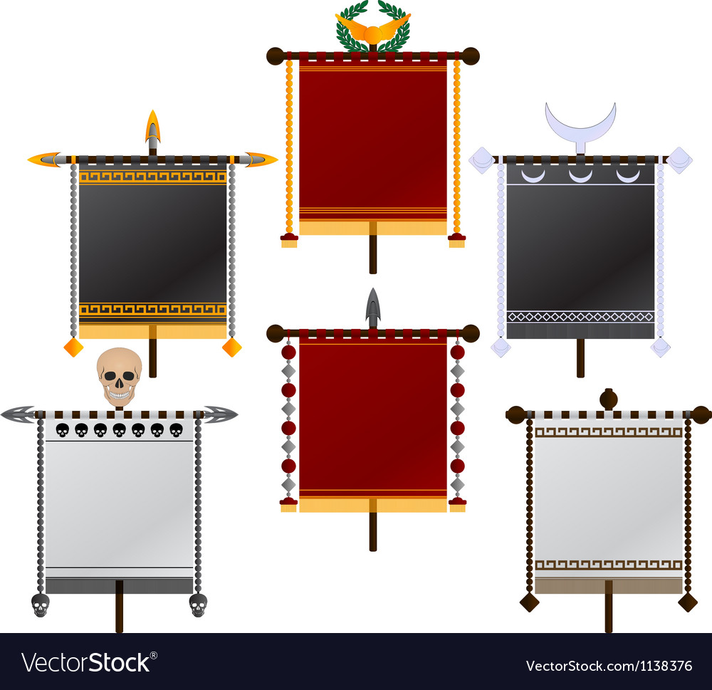 Set of standards vector