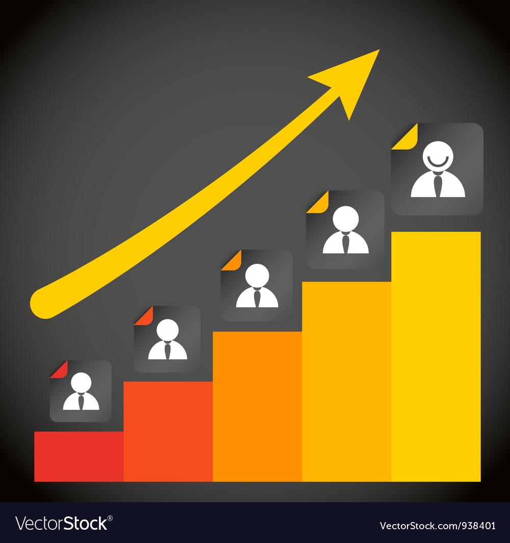 Rating chart vector
